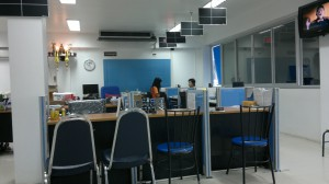 Inside the Hua Hin, Thailand Immigrationn Office