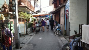 Narrow Lane in Hua Hin