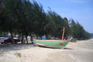 Fishing Boat on the sand