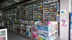 Typical Chinese Pharmacy in Hua Hin