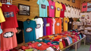 Colorful Shirts at the Floating Market